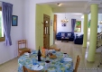 Villa Hera Dining room to lounge bright 2 person rates accessible