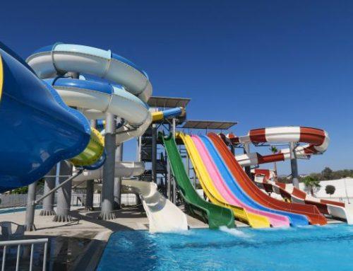 Die kleineren Wasserparks an den Hotels in Pafos, Zypern